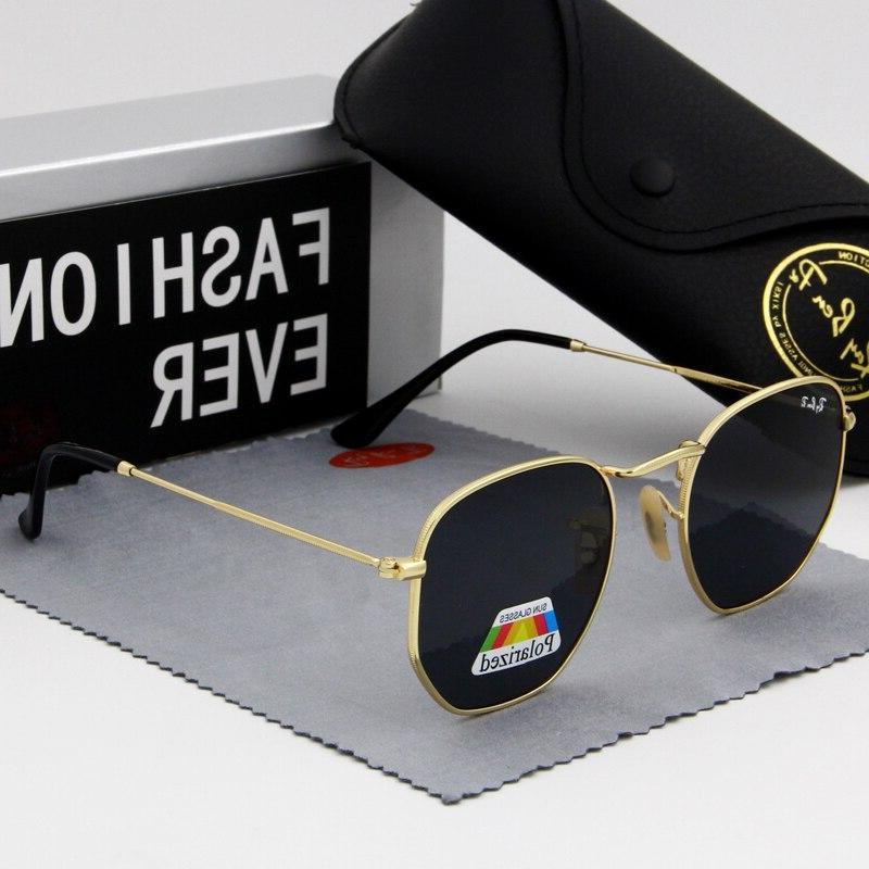 Hexagon Glasses <font><b>sunglasses</b></font> Men designer <font><b>Mirror</b></font> Eyewear Sun Driving