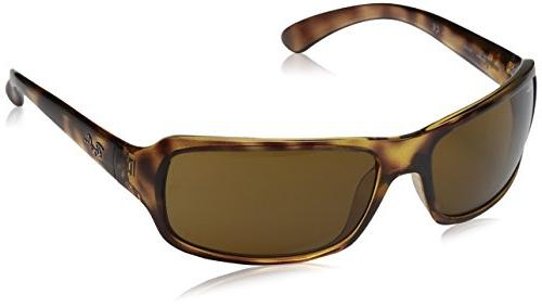 Ray-Ban RB4075 Sunglasses Havana/Crystal Brown Polarized  61
