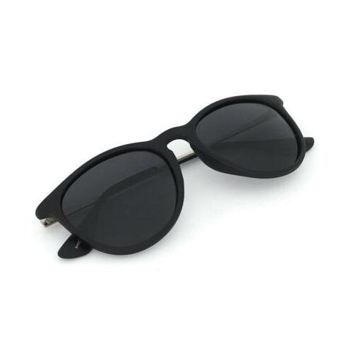 J+S Piha Classic Chic Round Cat Eyes Matte Polarized 400UV S