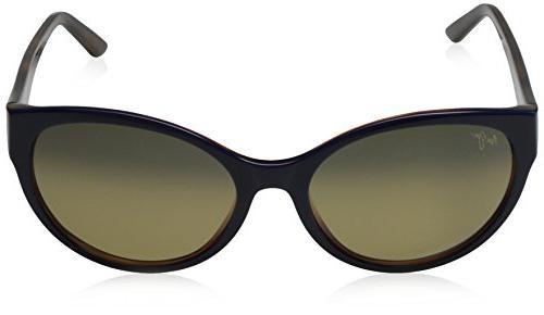 Maui Jim Pools Sunglasses Blue/Bronze Acetate 58mm