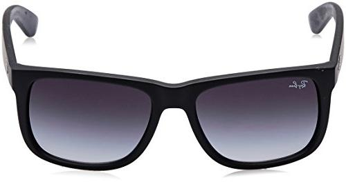 Ray-Ban - RUBBER BLACK GREY Lenses 55mm Non-Polarized