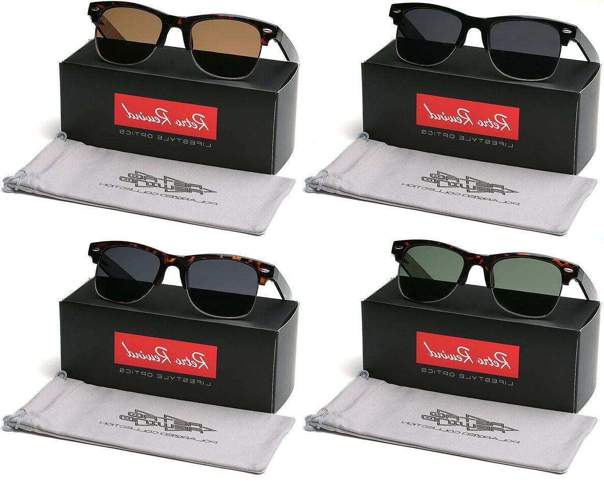 Large Retro Glasses Men's Sunglasses