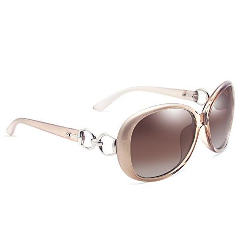 luxury women polarized sunglasses retro eyewear oversized