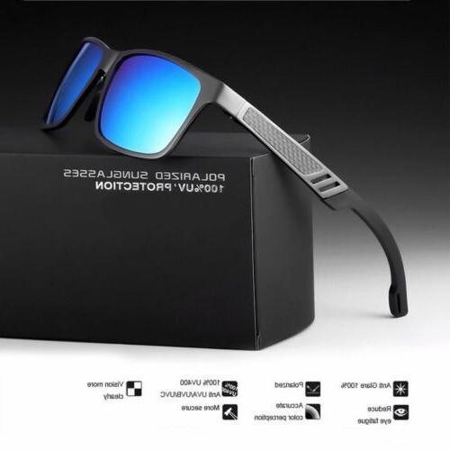 men s aluminium polarized colored hd sunglasses