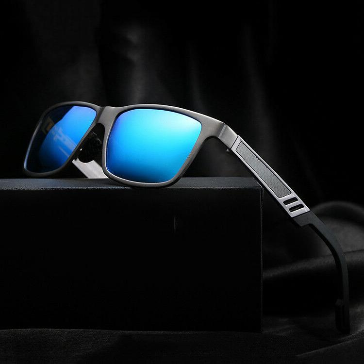 men s aluminium polarized colored sunglasses driving