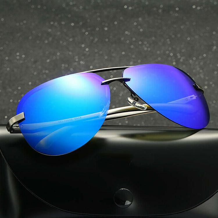 Men's Mirrored Driving UV400 Sunglasses