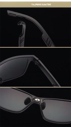 Men's Aluminium Outdoor Glasses Sport Eyewear