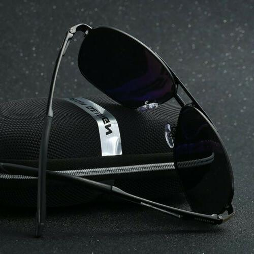 Style Polarized Pilot Sunglasses Driving Sun Glasses