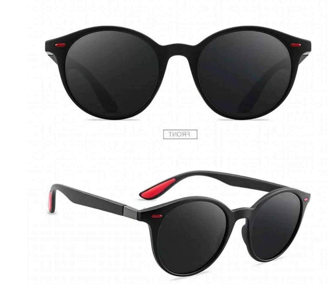 Men's Polarized Sunglasses Light Round Classic Fashion