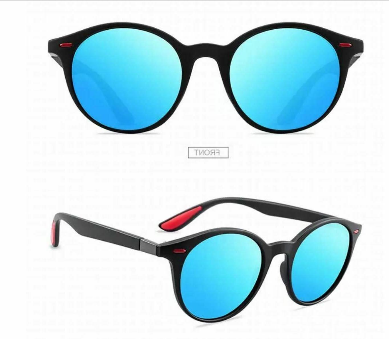 Men's Polarized Sunglasses Light Round Fashion Shades 2020