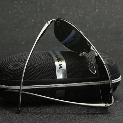 Aviator Mirrored Lens Frame