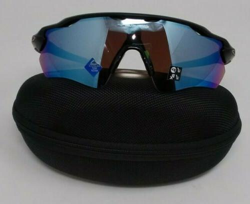 mens radar shield sunglasses with cleaning kit