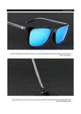 MERRY'S Unisex Aluminum Sunglasses For Men/Wome...