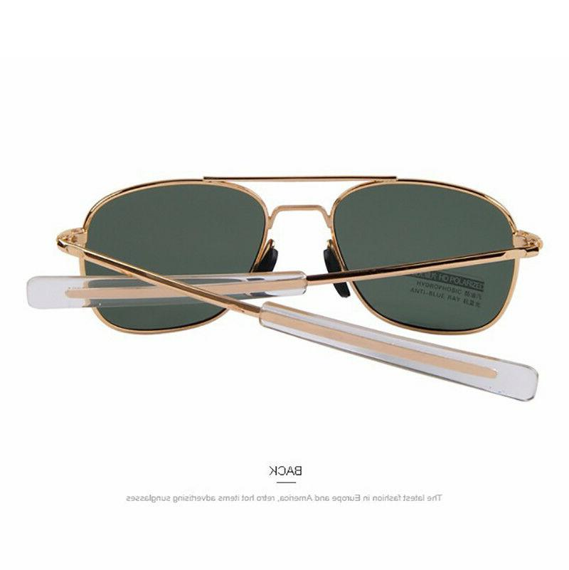 Aviator Pilot Ultraviolet Mens Polarized Sunglasses