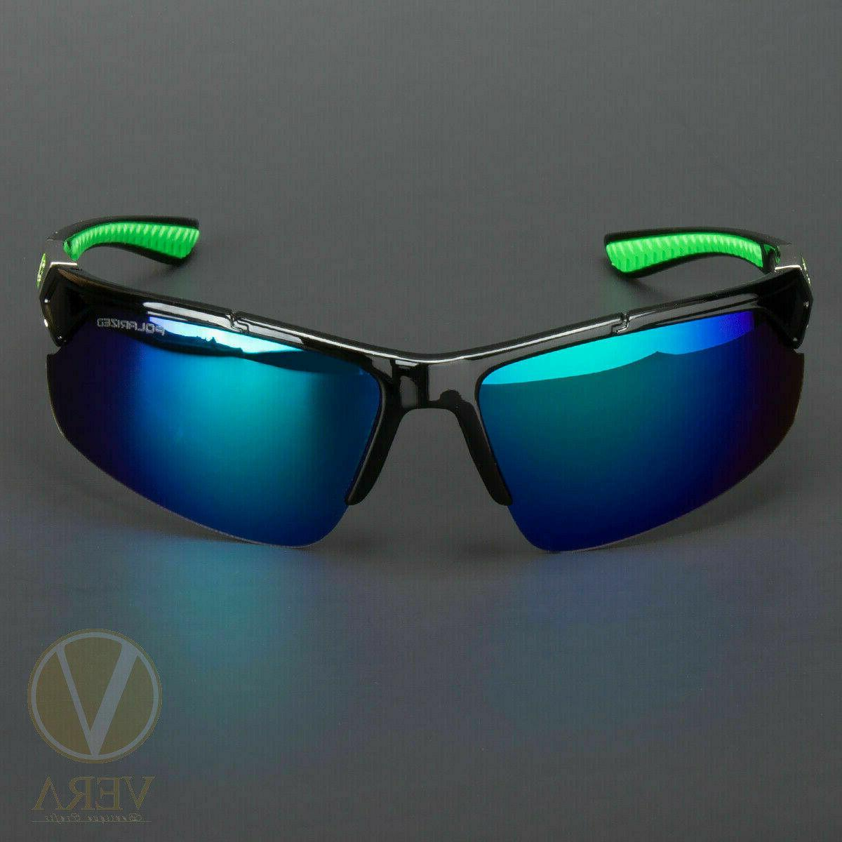 New Men Sport Around HD Mirror Eyewear Glasses US