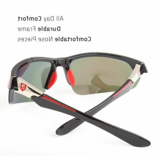 New Polarized Sunglasses Sport Wrap Driving