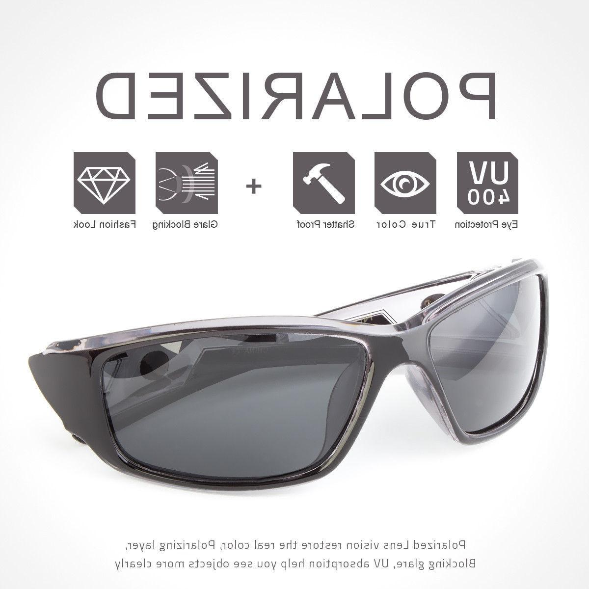 New POLARIZED Anti Fishing Cycling Driving Sunglasses