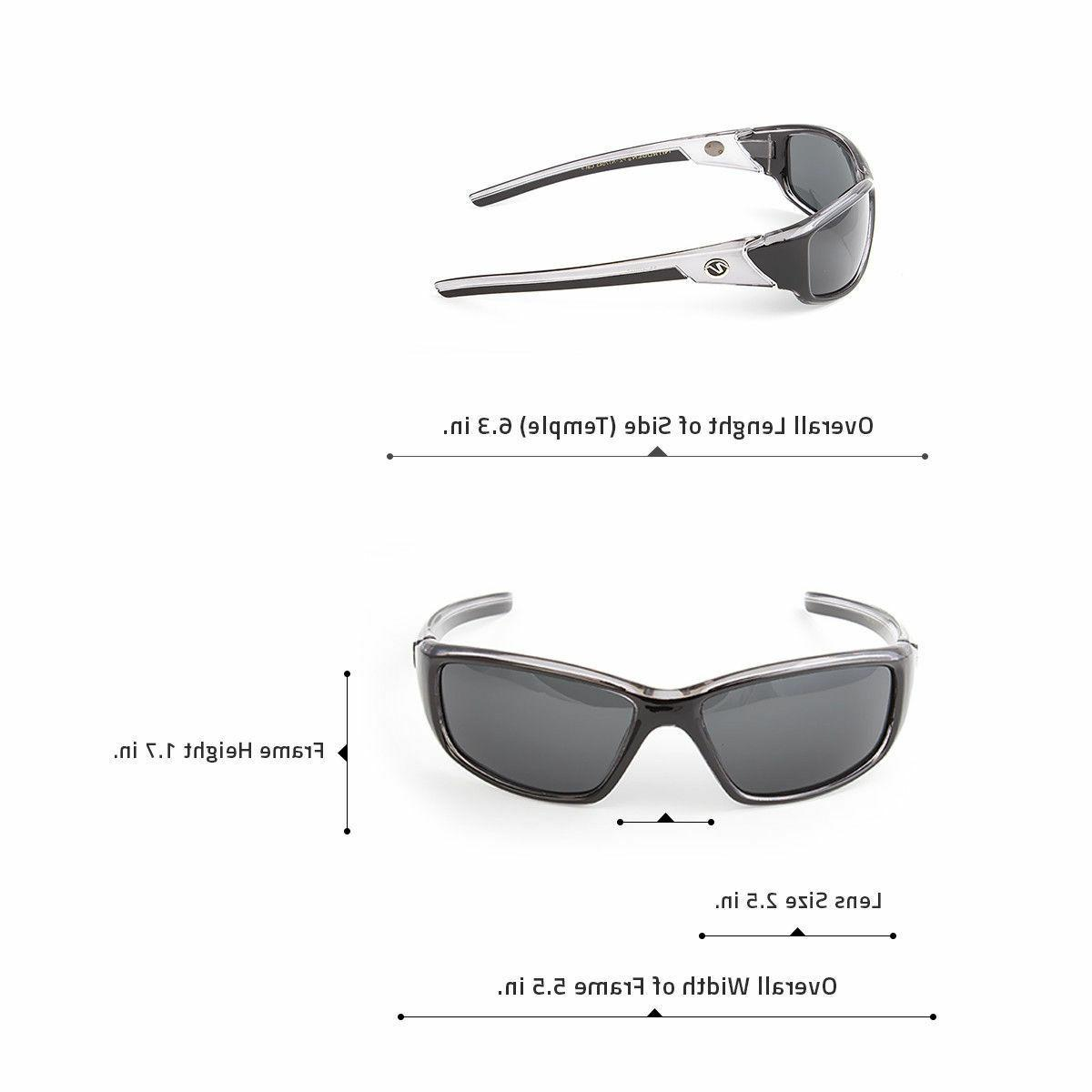 New POLARIZED Mens Anti Glare Cycling Driving Sport