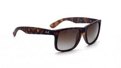 new ray ban justin classic polarized brown