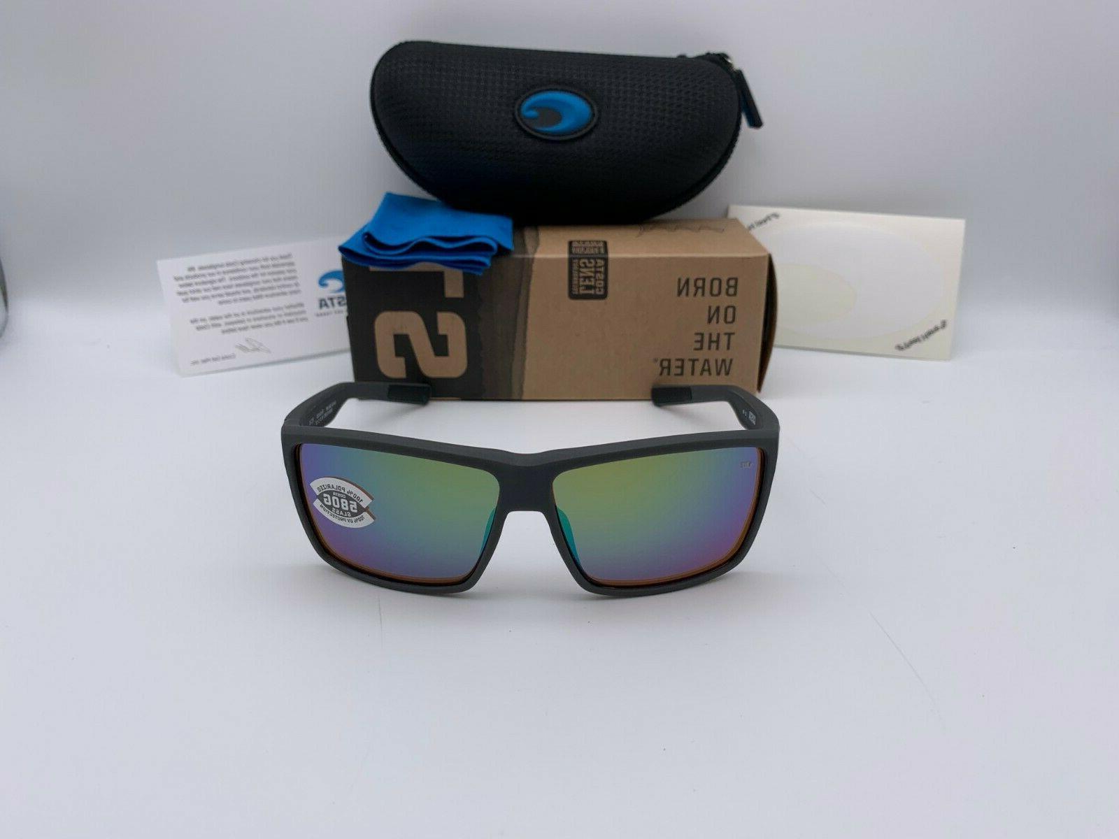 NEW RINCONCITO Polarized Sunglasses Gray Green 580G 98