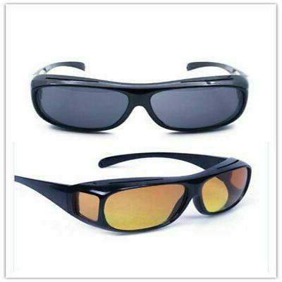 Night Night Sight Glasses Driving Anti Glare US