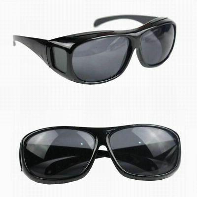 Night Vision Sunglasses Polarized Night Driving Anti US