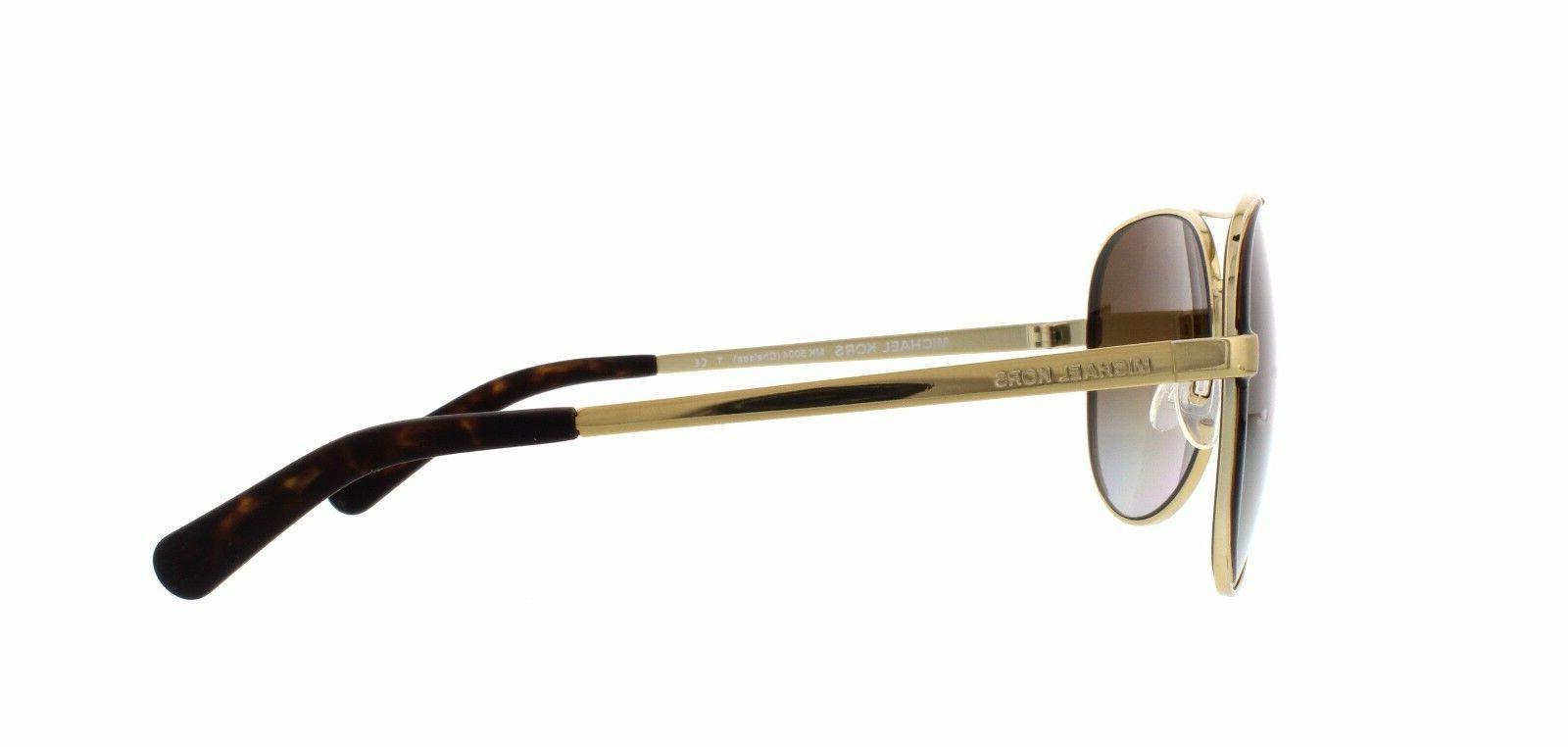 NWT Michael Kors MK Gold Gradient 59mm