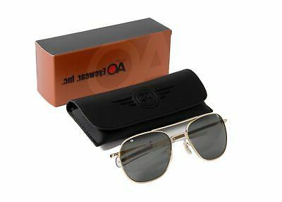original pilot sunglasses gold frames display model