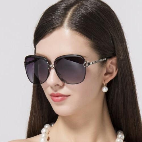 oversized square sunglasses women polarized retro fashion