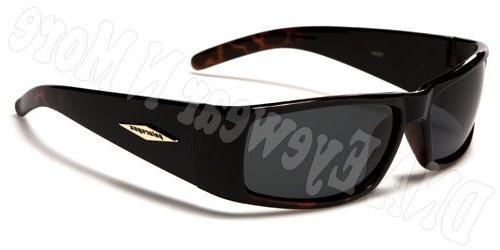 POLARSPEX Plastic Mens Sunglasses 100% & UVB Browns