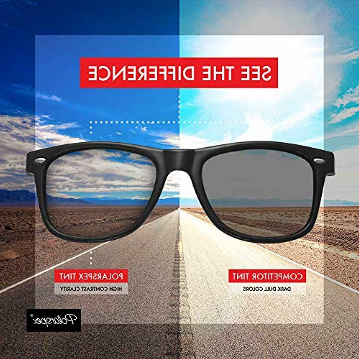 Retro Stylish Sunglasses Polarspex for