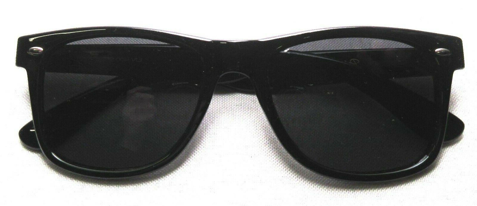 POLARSPEX Polarized 80's Retro Sunglasses UV 400 PSX01-BK-SMK