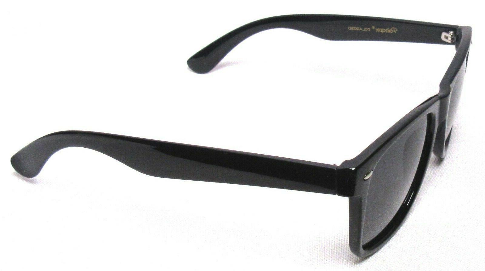 POLARSPEX Sunglasses Black UV PSX01-BK-SMK >NEW<