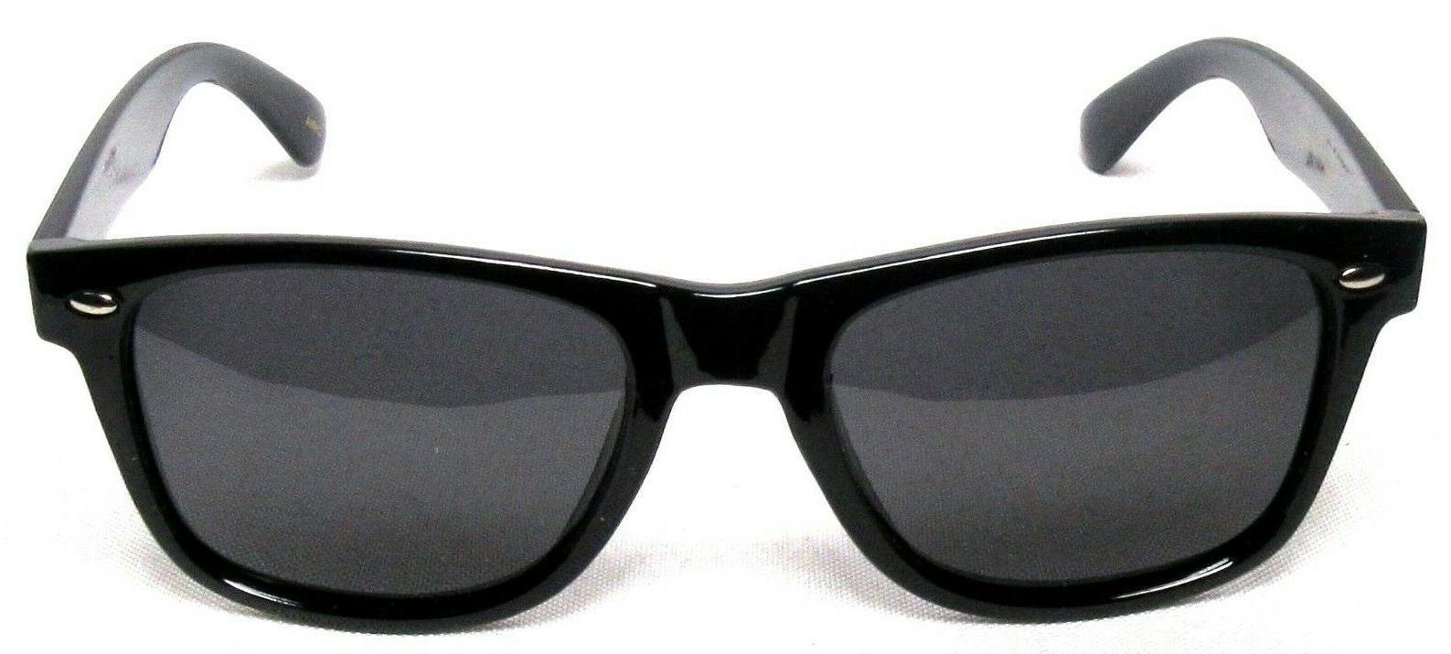 polarized 80 s retro sunglasses black uv