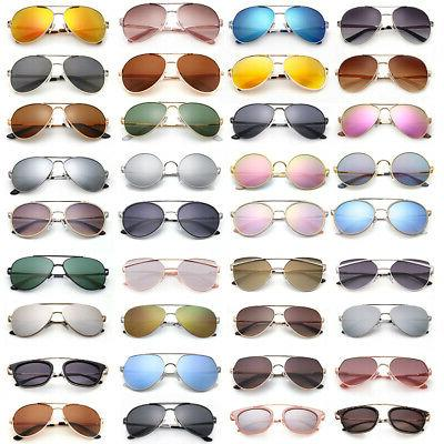 polarized aviator sunglasses for women men case