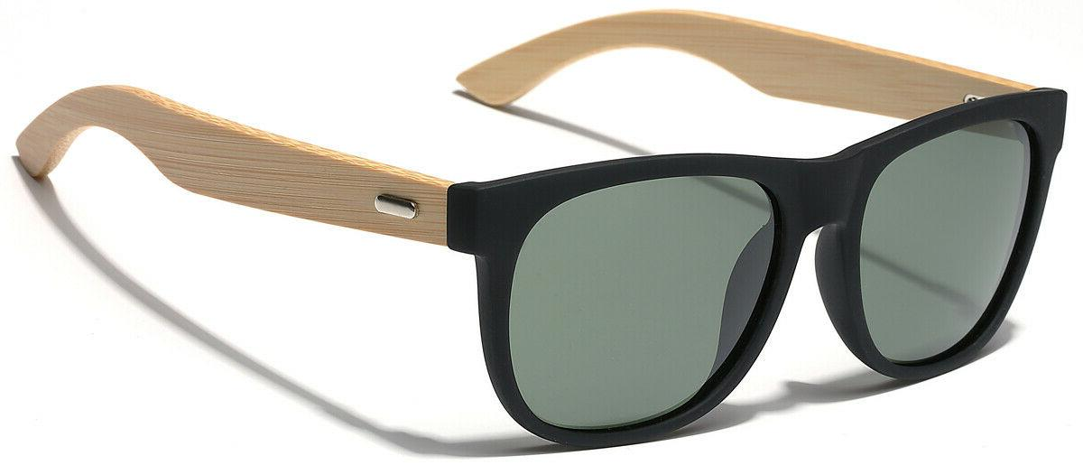 Polarized Bamboo Wood Arms Womens