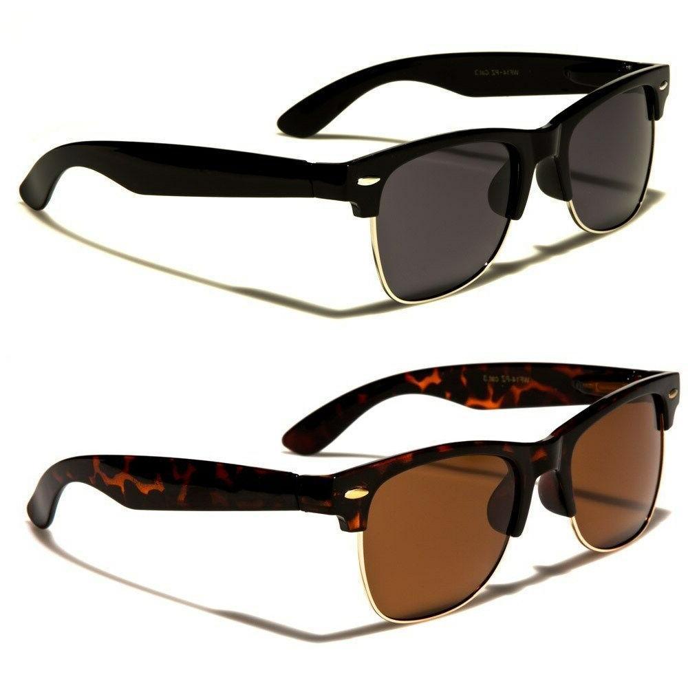 polarized classic vintage sunglasses mens womens metal