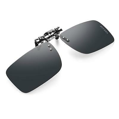 polarized clip on sunglasses for men women