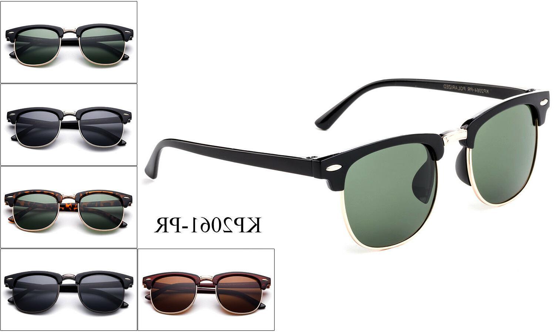 Polarized Kids Sunglasses Classic Vintage Boys Girls Childre
