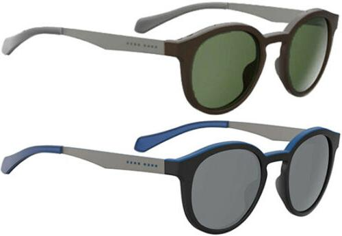Hugo Boss Polarized Men's Vintage Round Sunglasses - 0869S