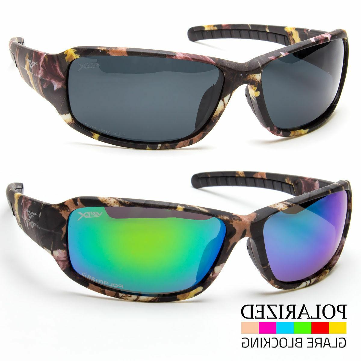 Polarized Men Wrap Camouflage Sport Camo Sunglasses Duck Hun