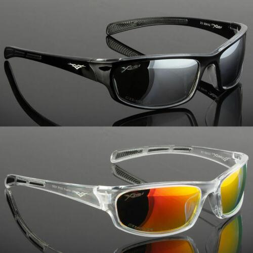 polarized mens wrap around fashion sunglasses fishing