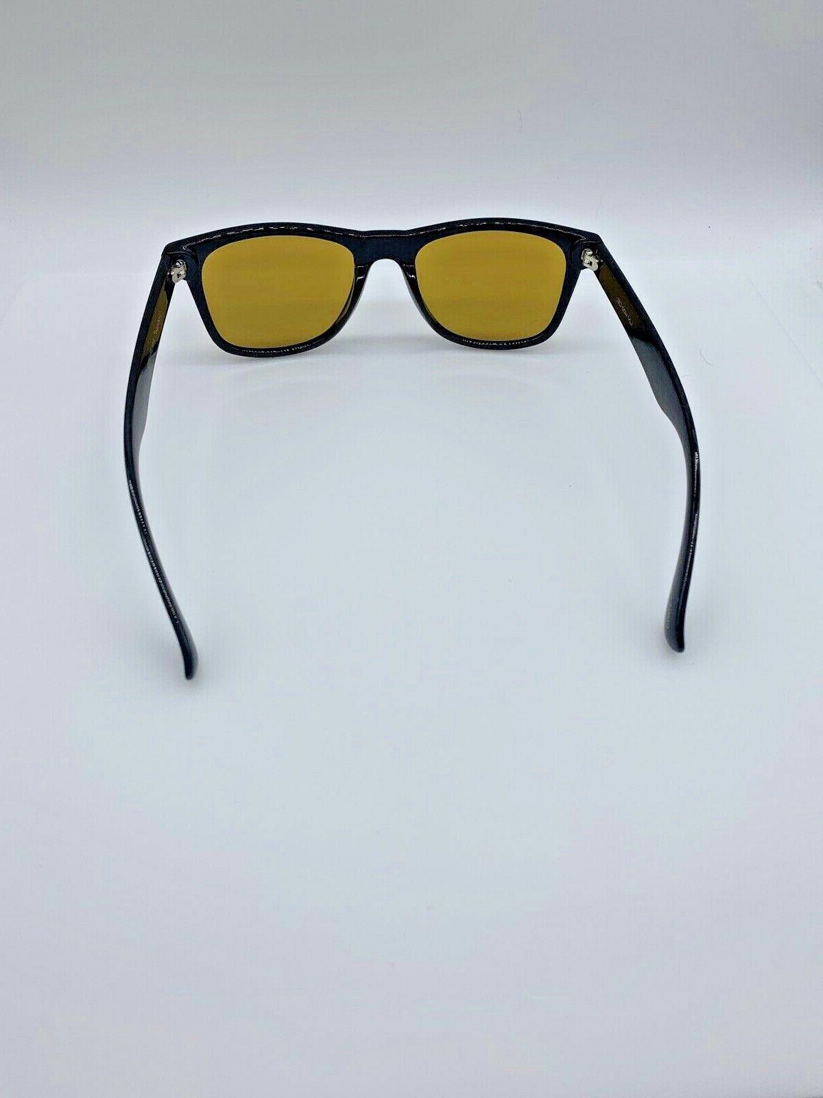 Polarspex PSX01 Retro 80's Sunglasses Black/Copper Sunglasses