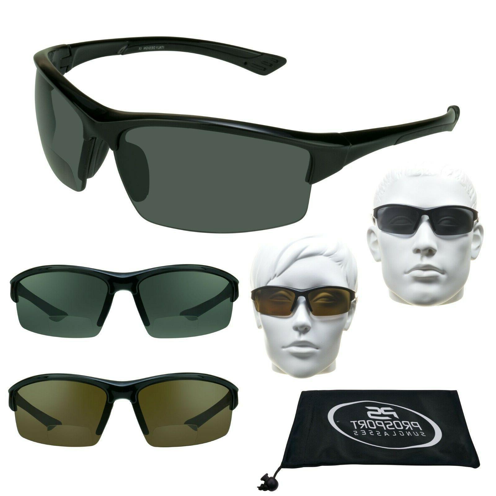 Bifocal POLARIZED Sunglasses Sun Readers Fishing Cycling Driving 1.5 2.0 2.5 3.0