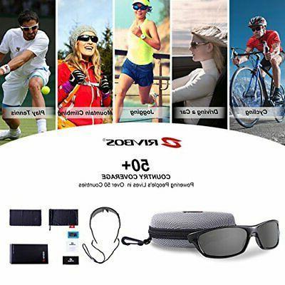 RIVBOS Polarized Sports Driving shades TR90