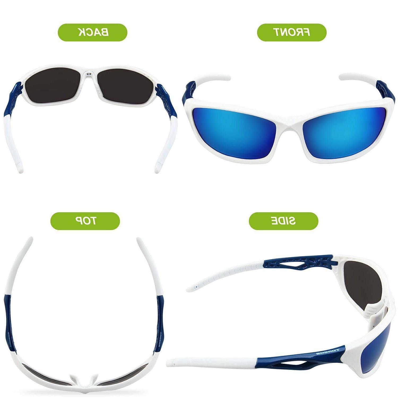 Torege Sunglasses For Men Women Cycling Running