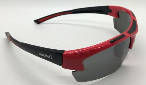 Duduma - Sports Sunglasses- Red/black Frame Lens