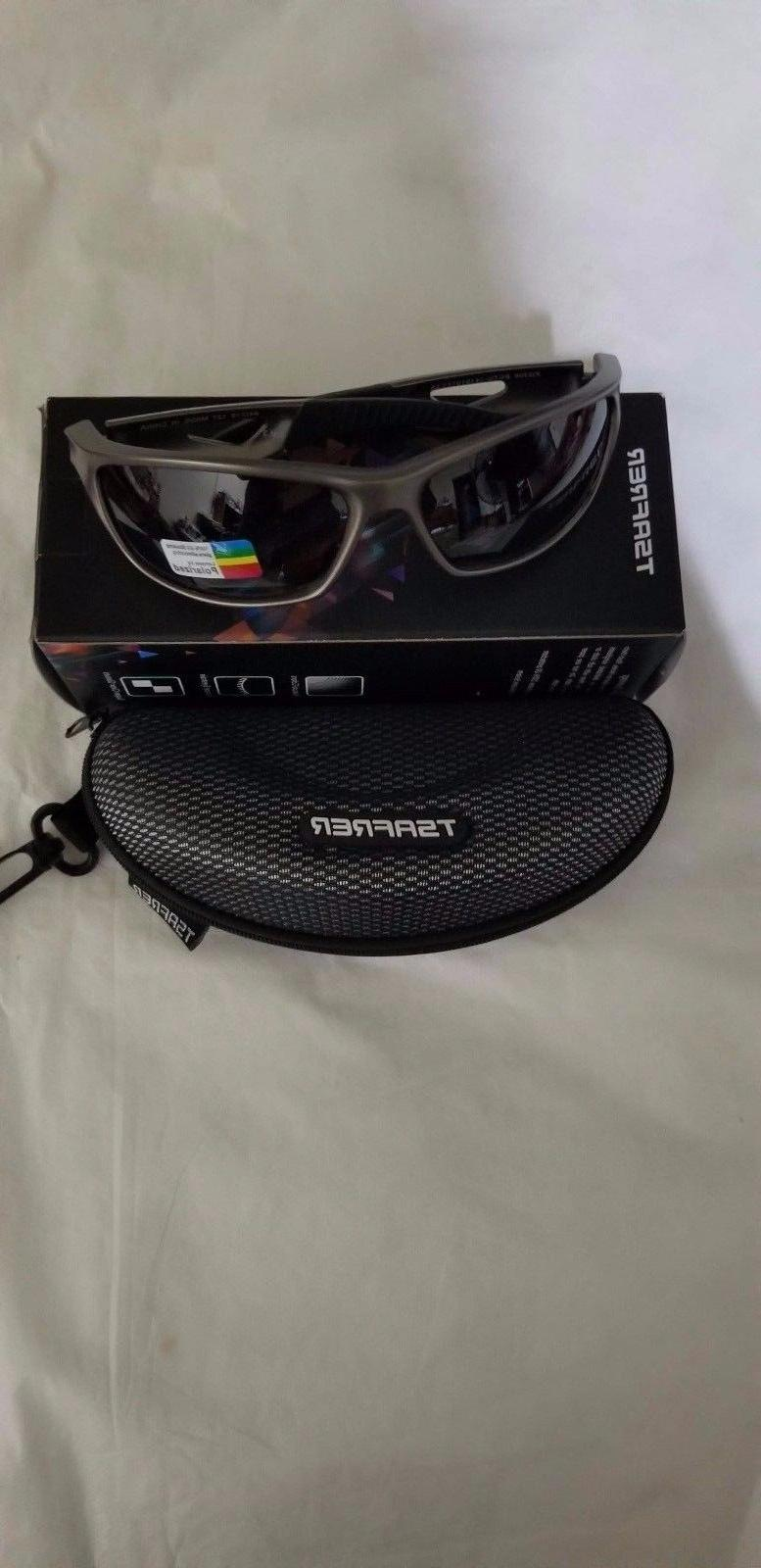 polarized sports sunglasses with interchangeable lenses new