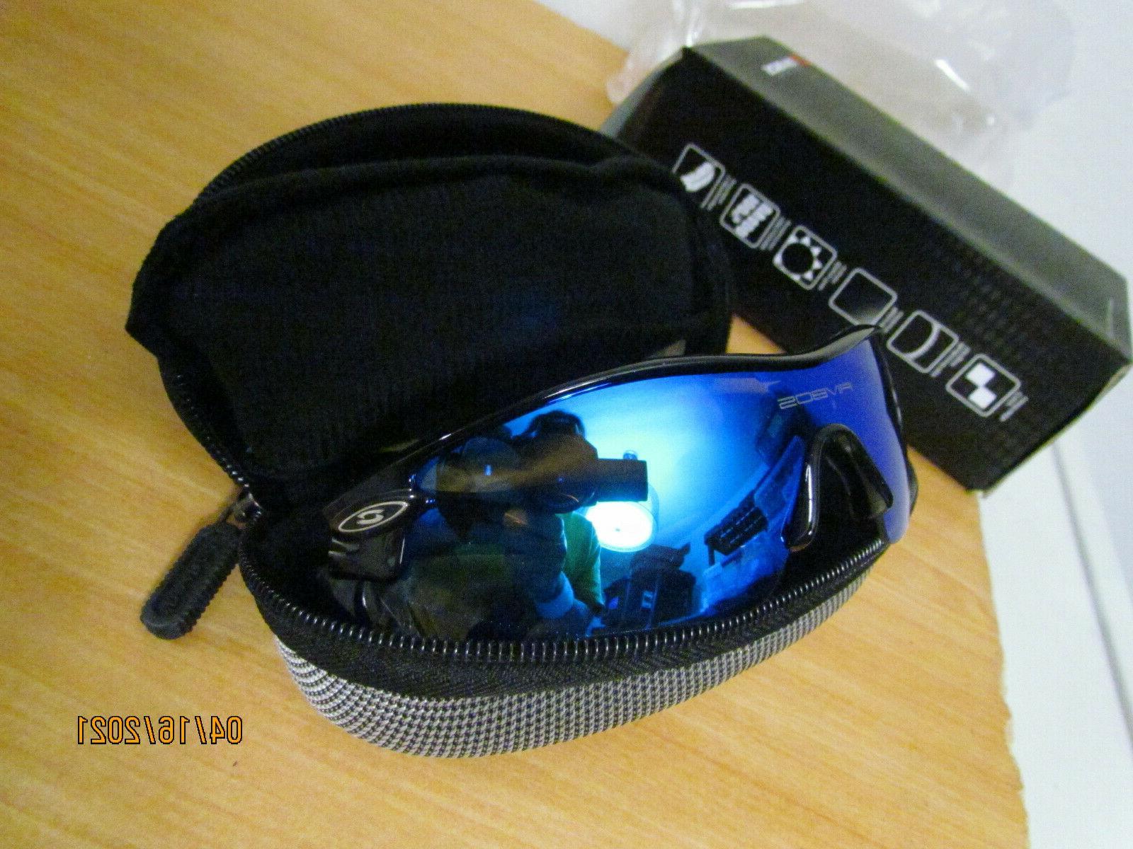 Rivbos Sunglasses lenses Woolike UV Mens Blue Upgrade