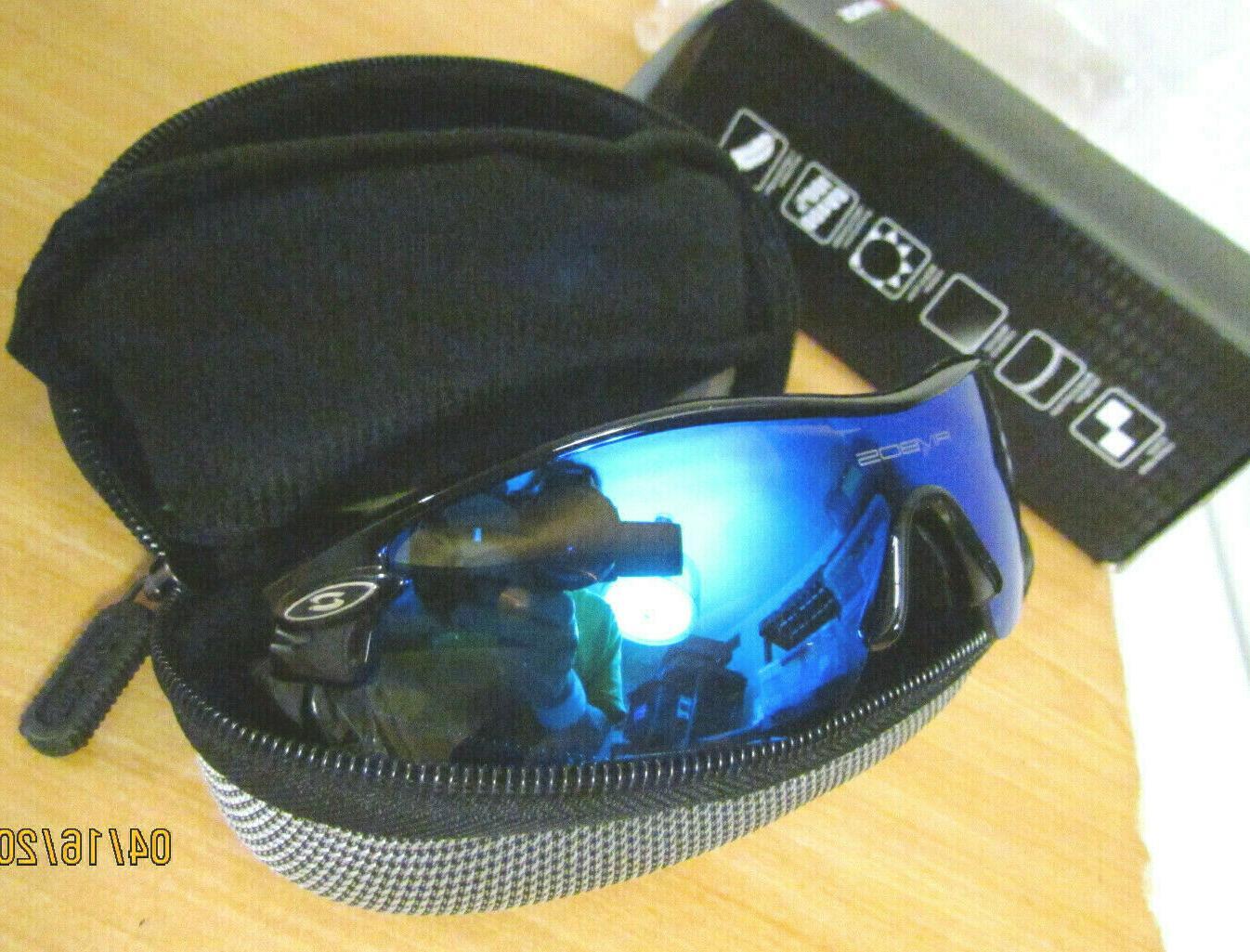 polarized sunglasses 4 lenses woolike uv sport